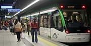 Metro Málaga mejora el servicio con mayor frecuencia de paso en el intervalo de 13.00 a 15.00 horas