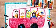 En Madrid los niños viajan gratis en autobús hasta los 7 años, en Valencia hasta 10 y en Ibiza hasta los 18