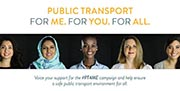 La UITP y el Banco Mundial lanzan una campaña a nivel mundial sobre la seguridad de las mujeres en el transporte público: #PT4ME