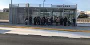 Nuevo intercambiador de autobuses de Chiclana de la Frontera, en Río Iro.