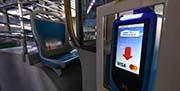 Este verano se podrá pagar con tarjeta de crédito en los autobuses de la EMT de Madrid.