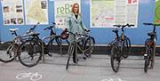 La Comunidad de Madrid instala aparcamientos para bicis en los accesos al transporte público