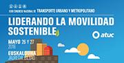"""ATUC celebró su Congreso anual en Bilbao, bajo el lema """"Liderando la Movilidad Sostenible"""""""